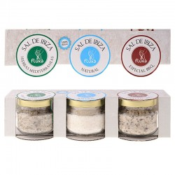 Salt from Ibiza Fluxà. 3 flavours pack