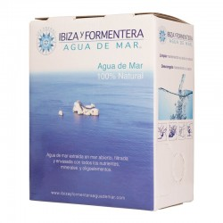 Sea water from Ibiza and Formentera. Pack Bag 3l.