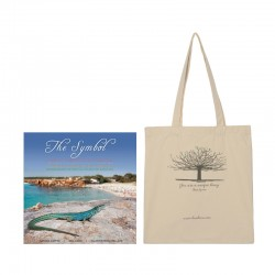 The Symbol book+Cloth bag with Ibizan fig tree