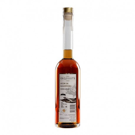 Ibizan carob liqueur(glass bottle)