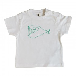 Camiseta Bebé We love kids (12m)